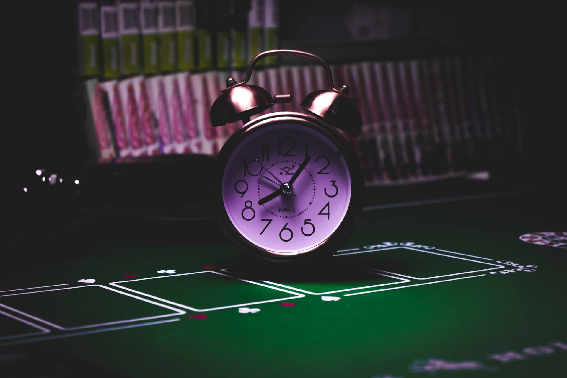 Casinos should have a clock for gamers